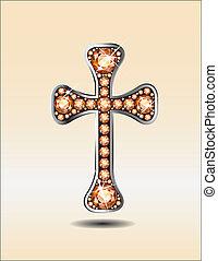 sárga, keresztény, kereszt