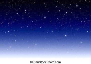 sötét, csillag, galaktika