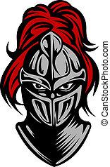 sötét, lovag, középkori