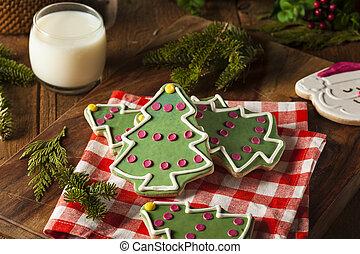 süti, karácsony, házi készítésű, ünnepies
