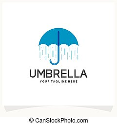 sablon, esernyő, jel, tervezés, ihlet