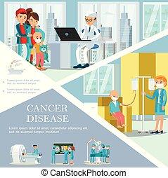 sablon, gyermekkor, rák, betegség, lakás
