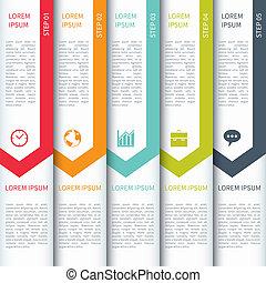 sablon, infographics, modern, minimalistic, sokszínű