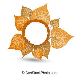 saját, background-autumn, zöld, ősz, tervezés, esés, -e