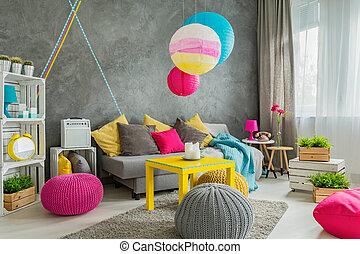 saját decor, gondolat, színes