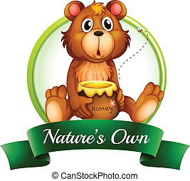 saját, nature's, hord, címke