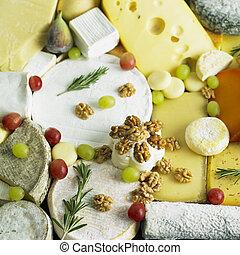 sajt, élet, mozdulatlan, gyümölcs