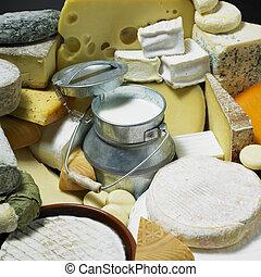 sajt, élet, mozdulatlan, megfej