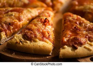 sajt, darabok, pizza