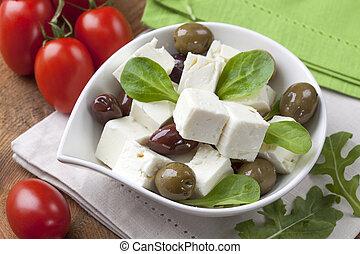 sajt, kikövez, feta