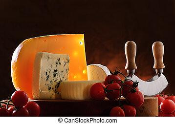 sajt, paradicsom, csendélet
