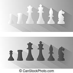 sakkjáték, ábra