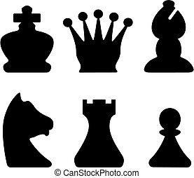 sakkjátékosok, jelkép