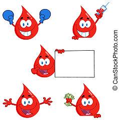 savanyúcukorka, vér, betűk