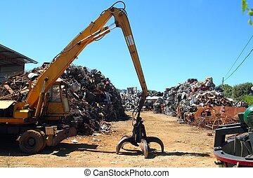scrap-iron, hulladék fém, vacak