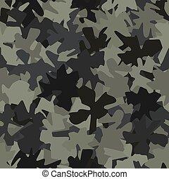 seamless, álcáz, hadsereg, vektor, hadi, elvont, pattern., ábra, struktúra