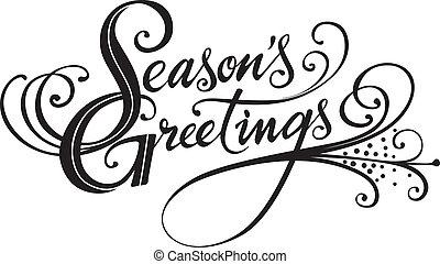 season's, köszöntések