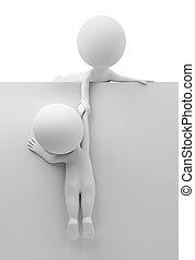 segítség, emberek, -, kicsi, barát, 3
