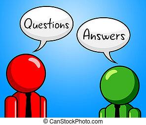 segítség, felel, kikérdezés, jelez, kihallgat, kérdez