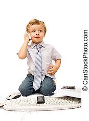 sejt, fiú, telefon