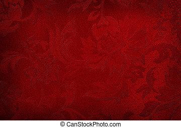 selyem, piros háttér