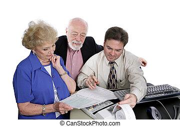 seniors, számvitel, -, sorozat, &, adók