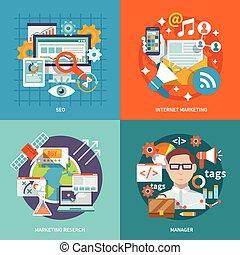 seo, marketing, internet, lakás