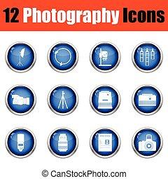 set., fotográfia, ikon