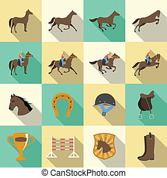 shadows, lakás, állhatatos, ikonok, lovaglás