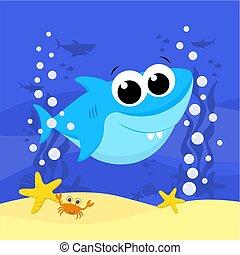 shark.eps, kevés, csinos