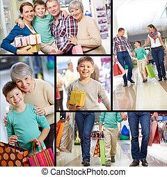 shoppers, boldog