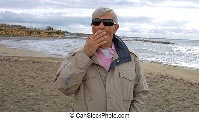 sic, dohányzó, rák, ember