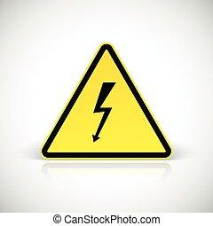 signs., figyelem, rázkódás, elektromos