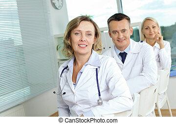 sikeres, orvosi sportcsapat
