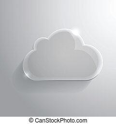 sima, felhő