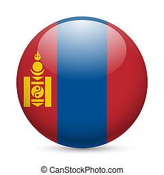 sima, kerek, mongólia, ikon