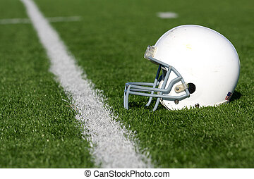 sisak, amerikai futball, mező