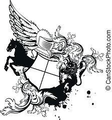 sisak, címertani, arms4, bőr