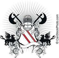 sisak, címertani, arms8, bőr