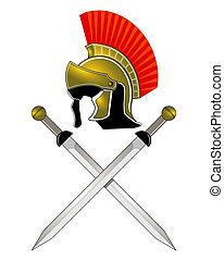 sisak, római, kard