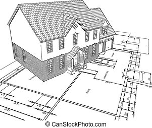 sketched, alaprajzok, épület
