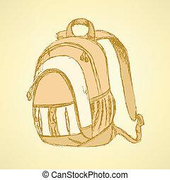 skicc, hátizsák, izbogis, csinos