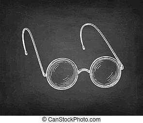 skicc, szüret, eyeglasses., kréta