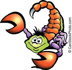 skorpió, veszély