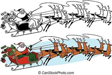 sleigh, klaus, szent