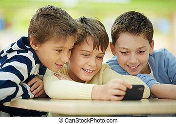 smartphone, gyerekek