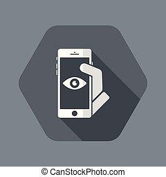 smartphone, magánélet