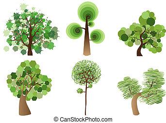 sokszínű, állhatatos, fa