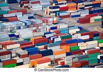 sors, hajózás, tároló