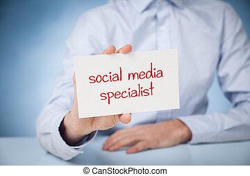 specialista, média, társadalmi